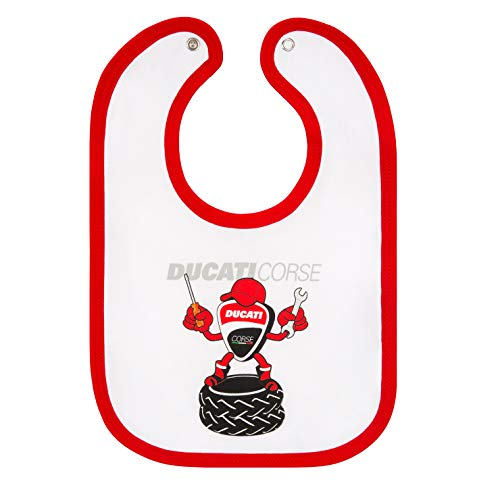 Whybee 2019 Ducati Corse Racing MotoGP Baby Bib Childrens Toddler Official Merchandise