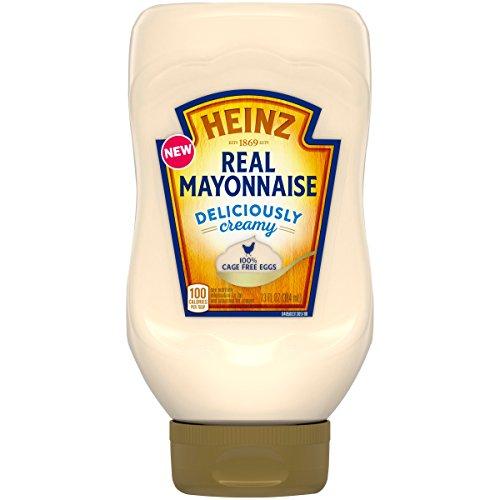 Heinz Real Mayonnaise, 100% Cage Free Eggs, 13 fl. oz (Heinz Mayonnaise)