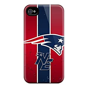 Protector Hard Phone Cover For Iphone 6plus (ZyR14550yCbQ) Allow Personal Design Beautiful New England Patriots Image