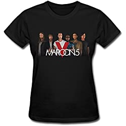 Women's Maroon 5 Onl North American Concert 2016 Tour T-shirt Fashion Design Tee