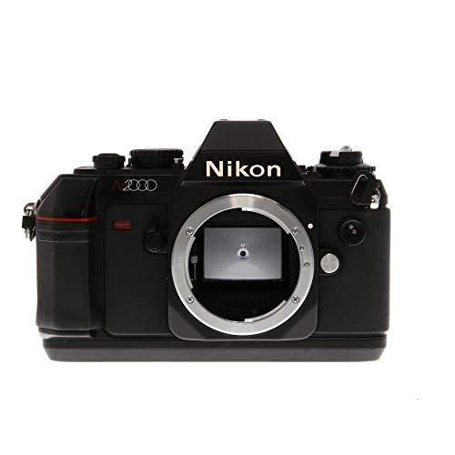 Nikon N2000 F-301 SLR film camera (body only, lens is not included) (Nikon 35 Slr Mm Film)