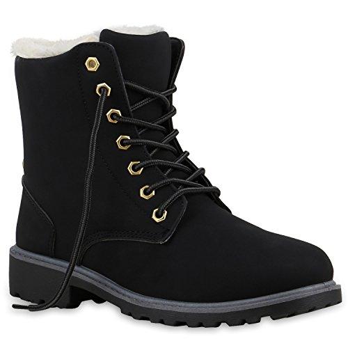 Bebe Perlah, Schuhe, Stiefel & Boots, Warm gefütterte Stiefel, Schwarz, Female, 37