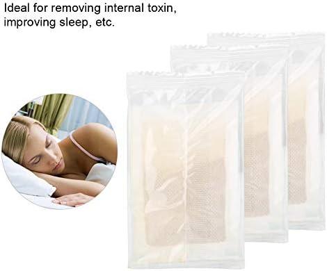 Adhesive Foot Pads, 60 Stück Detox Foot Pads Ginger Extract zur Verbesserung des Schlafes und zum Entfernen von Körpertoxinen