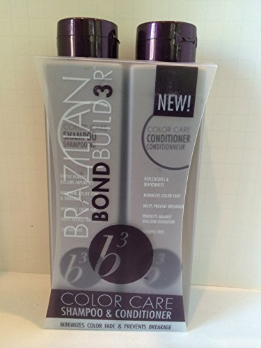 Price comparison product image Brazilian Blowout B3 Color Care Shampoo and Conditioner 12oz Set