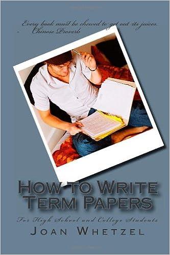 High school term paper