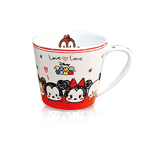 Ipad 2 Halloween Costume Hole - Finex Tsum Tsum Mickey Mouse Minnie Mouse and Friends Ceramic Coffee Mug Water Tea Cup White Small