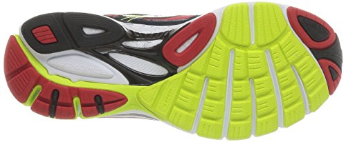 Saucony Guide 7, Scarpe sportive, Uomo Black/Red/Citron