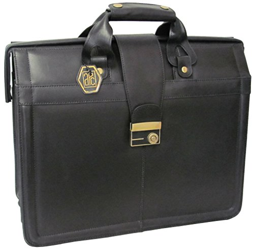 Executive Brief Bag (AmeriLeather APC Legal Leather Executive Brief (Black))