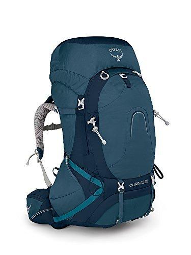 Osprey Packs Pack Aura Ag 65 Backpack, Challenge Blue, Small [並行輸入品] B07DVGT4PF