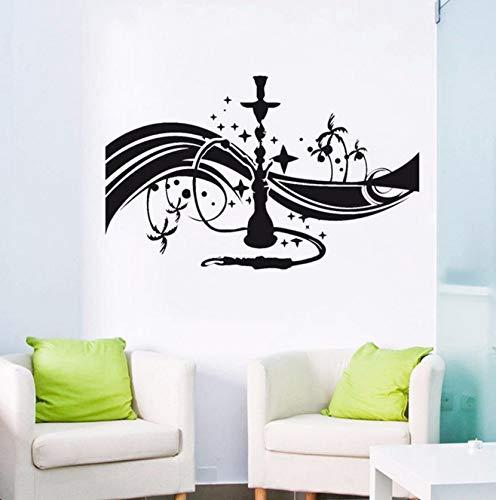 Dalxsh Lounge Wall Decal Bedroom Arabic Vinyl Wall Art Sticker Living Room Self Adhesive Wall Decor Decals -
