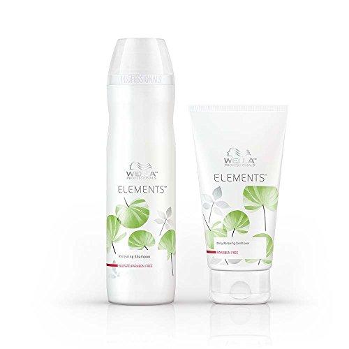 Wella Elements Shampoo und Spülung, 250 ml und 200 ml