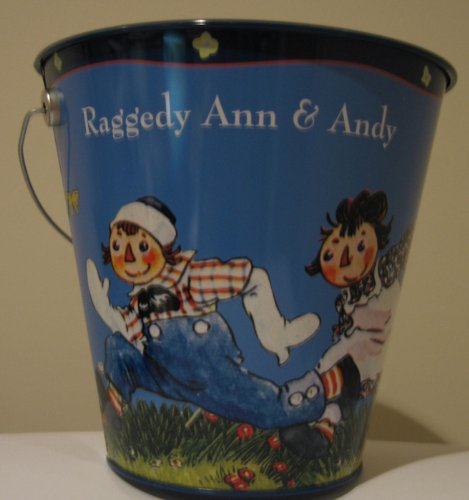 Raggedy Ann & Andy Tin Pail (Andy Tin)