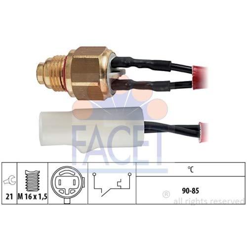 Facet 7.5110 Interruptor de temperatura, ventilador del radiador