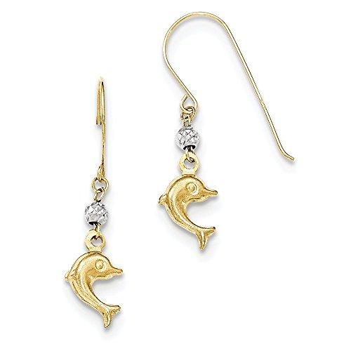 Gold Toned Clip Earrings - 3