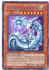 Yu-Gi-Oh! - Cyber Laser Dragon (DP04-EN003) - Duelist Pack 4 Zane Truesdale - 1st Edition - Rare (Zane Duelist Pack)