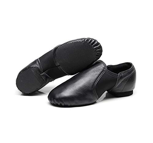 Disponible Couleurs Semelle Chaussures En Néoprène Split Arches Sur 2 Jazz Noir Antidérapant Dance Cuir Dogeek SqzPYOO