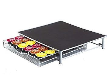 Neo Soporte para máquina de café y cápsulas, cajón de almacenamiento Nespresso Dolce Gusto: Amazon.es: Hogar