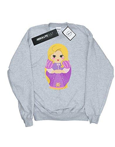 Deporte Camisa Matryoska Disney De Mujer Rapunzel Gris Tangled Entrenamiento wttqIZ0x