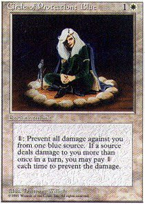 Magic: the Gathering - Circle of Protection: Blue - Fourth Edition