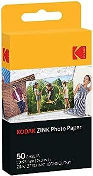 Filme Instantneo Zink Photo Paper com 50 Poses, Kodak, Acessórios para Câmeras Digitais