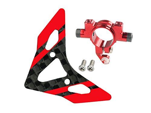 - Microheli Aluminum Tail Boom Support Mount w/ Fin (R) - BLADE 180 CFX