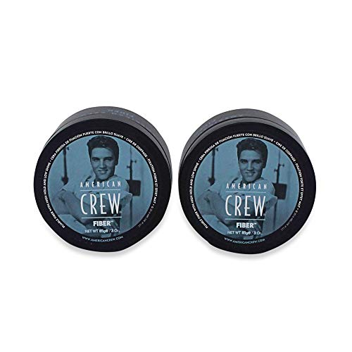 (American Crew Fiber Pliable Molding Creme for Men, 3 Ounce Jars (Pack of 2))