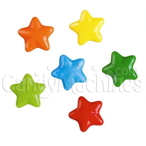 (Candy By The Pound - 2 Pound Bag of Neon Stars)