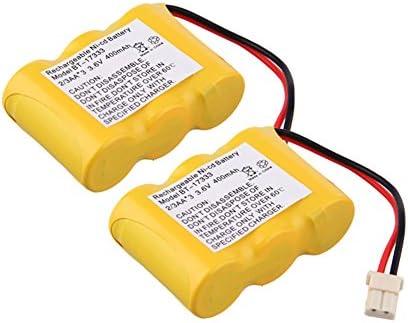 JIAN YA NA - Batería de repuesto para teléfono inalámbrico Vtech BT 17333 BT 27333 CS2111 3,6 V 400 mAh, Ni CD, color amarillo 0,14 x 0,1 x 0,05: Amazon.es: Electrónica