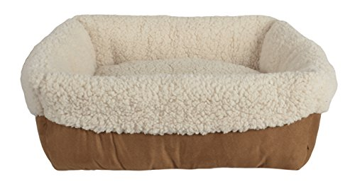 Buttercup Cat Bed (Pet Spaces Everyday Cuff Bed, 17 x 17 x 6