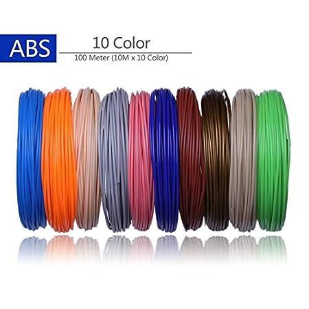 Wang-nuan-jun, Impresora 3D Filamentos 200 Metros 20 Colores ...