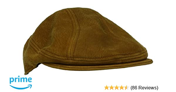 52fc282a3c3a0 Stetson Men s Distressed Leather Ivy Hat at Amazon Men s Clothing store  Newsboy  Caps