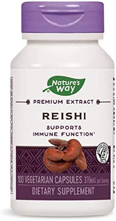 Nature s Way Reishi, 100 Capsules Pack of 2