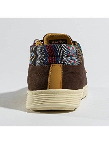 Djinns Homme Chaussures/Baskets Mid Lau Brun NVFGZAkfK