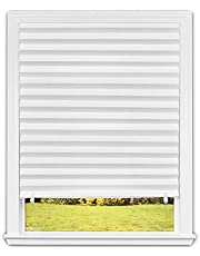"""Original Light Filtering Pleated Paper Shade White, 48"""" x 90"""", 2-Pack"""