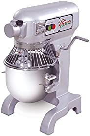 """PRIMO PM-10 Stainless Steel Mixer, 10 quart Capacity, 13"""" Width x 30"""" Height x"""