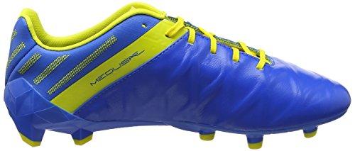 Umbro Herren Medusæ Ii Pro Sg Fußballschuhe, Blau (Electric Blue/White/Blazing Yellow), 41 EU