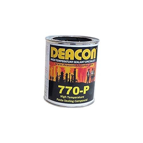 Deacon 770-P Quart High Temperature Paste Sealant, 200 Degree F to 950 Degree F, 1 quart