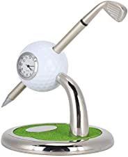 Golf Ball Pen Stand, 3 in 1 Golf Pen Holding Stand, Desktop Electronic Mutifunctional Decorative Practical Off