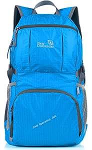 Outlander Large Packable Handy Lightweight Travel Backpack Daypack,Blue