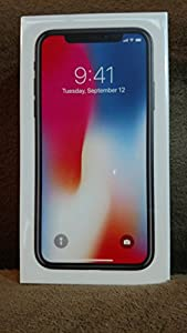 """Brand New Sealed iPhone X, Fully Unlocked 5.8"""", 64 GB - Silver"""