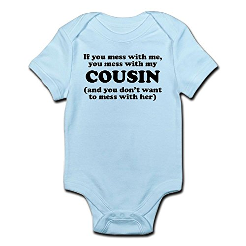 CafePress Cousin Infant Bodysuit Romper