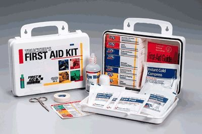 First Aid Only 16 Unit Trucker First Aid Kit, 88-Piece Kit from First Aid Only