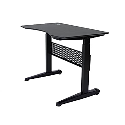 "Apexdesk AirLift Series Movable Sit/Standing Desk, Pneumatic Height Adjustable from 30"" to 47"""