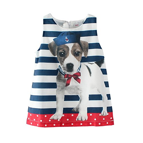 Mud Kingdom Cute Baby Girl Dresses Boutique Puppy 24 Months Summer