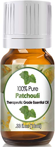 Patchouli Essential Oil for Diffuser & Reed Diffusers (100% Pure Essential Oil) 10ml