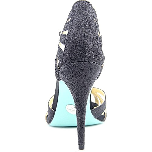 Johnson Tee SB Women's Black Pump Dress Blue Glitter by Betsey Xw1qxIE