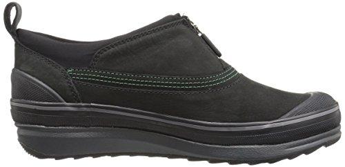 Clarks Womens Muckers Ruck Rain Shoe Black Nubuck