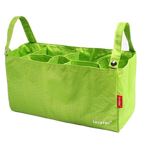 KF Baby–Organizador de pañales cochecito + Cambiador Value Combo verde Green Combo Talla:13 inch Green Combo