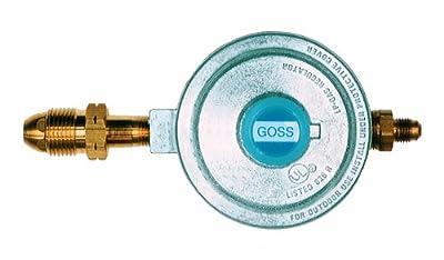 Goss EP-60-3 Low Pressure Propane Regulator, POL Inlet, LH Hose Outlet