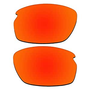 Amazon.com: ACOMPATIBLE Replacement Fire Red Polarized ...